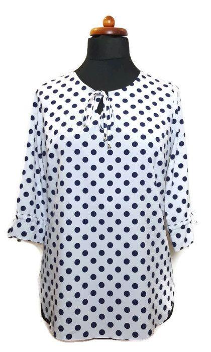 187bbb3051  NOWOŚĆ Tunika MAJKA rozmiary 42-58  3  plus  size  dlapuszystych  bigsize   online  sklepinternetowy  tunika  bluzka  grochy  dopracy