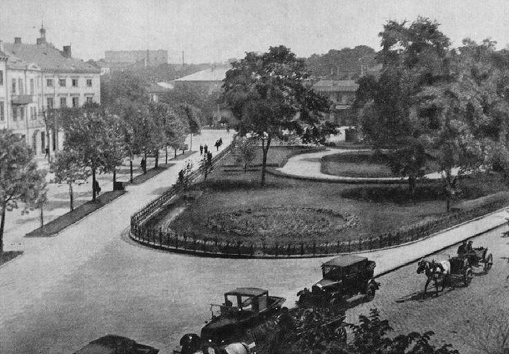 """Plac Bankowy fot. """"Warszawy na starej fotografii"""""""