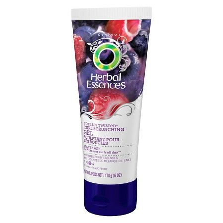 Herbal Essences Totally Twisted Curl Scrunching Gel - little goes a long way (12/2015)