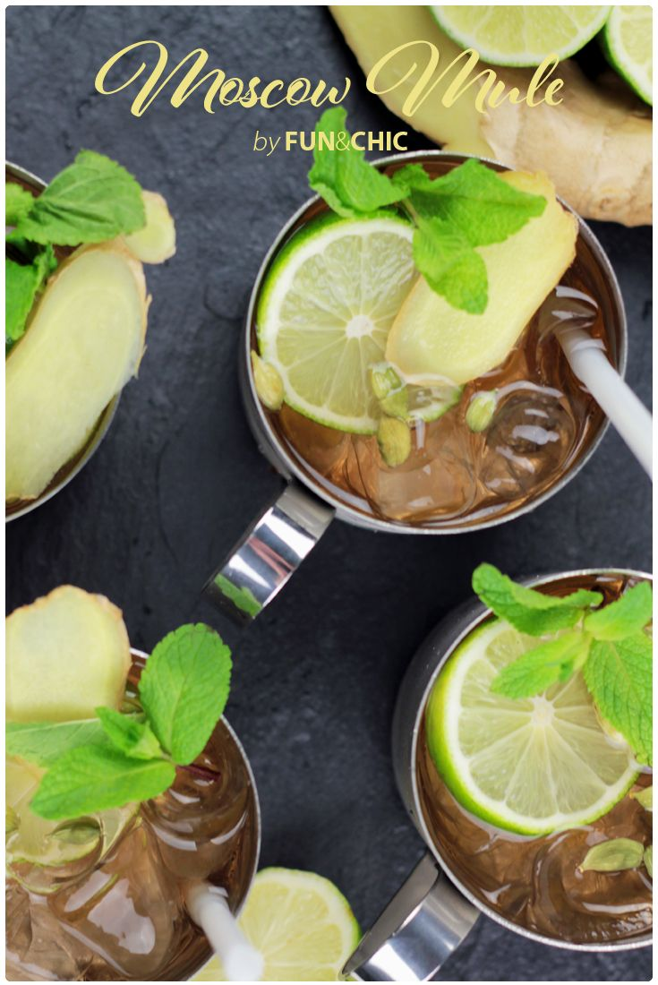 Fun&Chic - No ordinary beverage Moscow Mule
