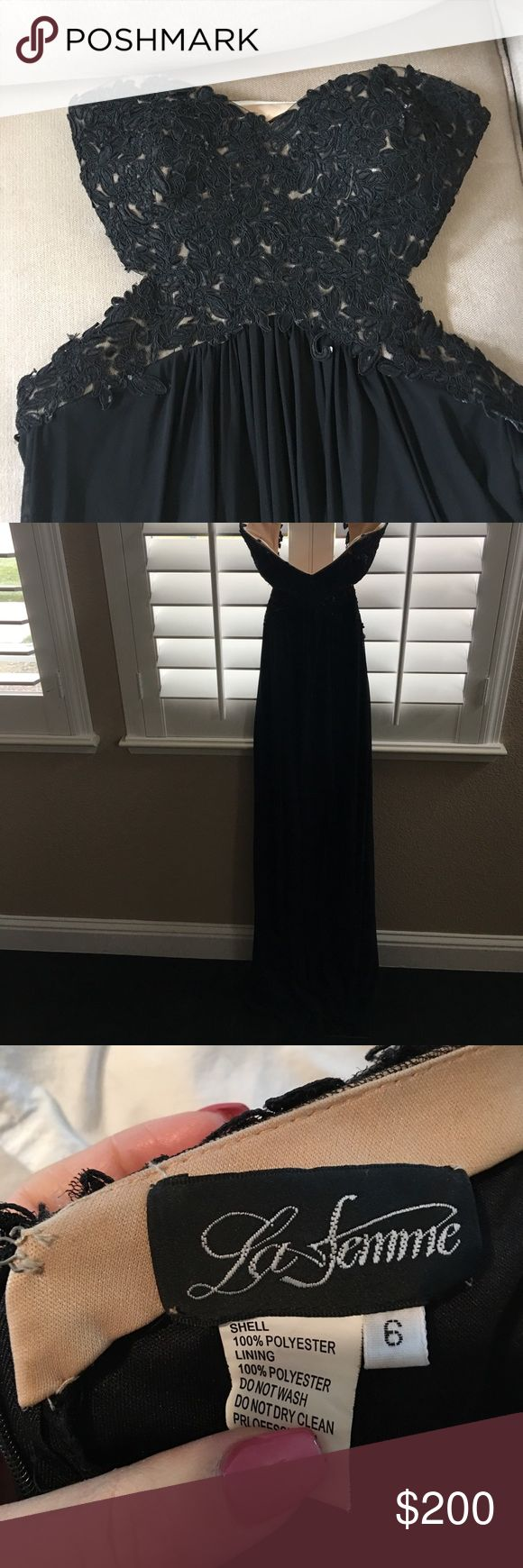 La femme dress worn once La femme dress worn once La Femme Dresses