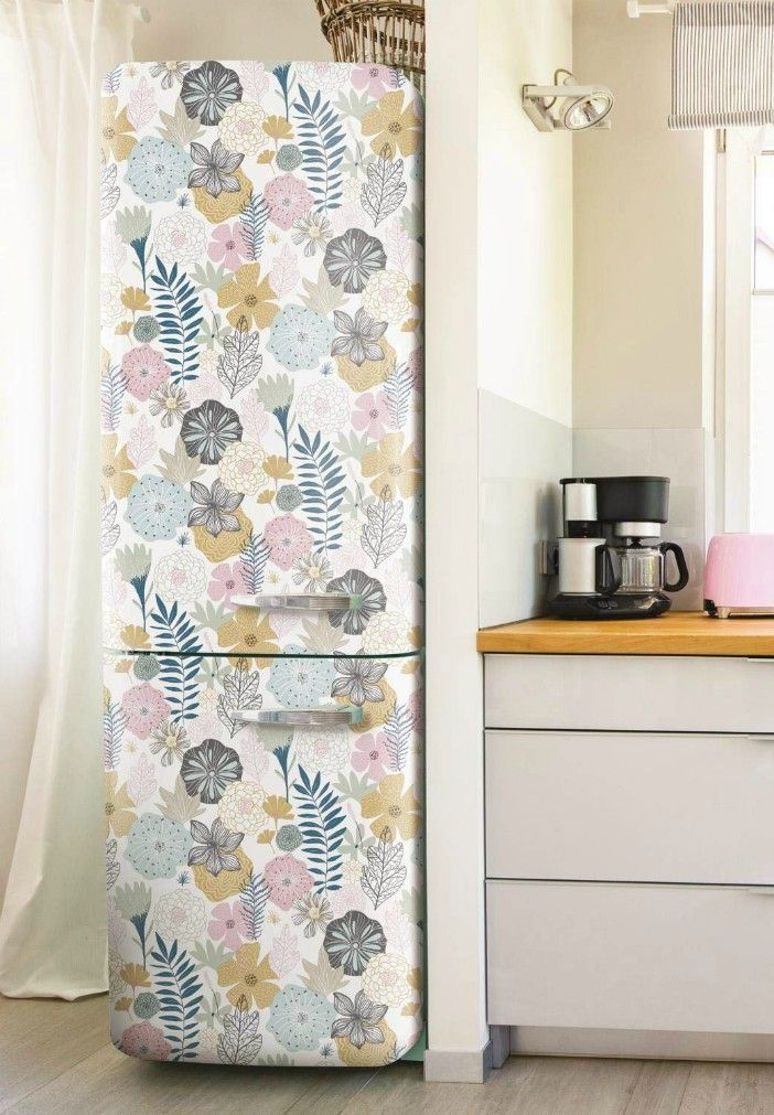16 Creative Ways To Use Peel And Stick Wallpaper Living In A Shoebox Peel And Stick Wallpaper Wallpaper Furniture Wallpaper