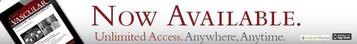 Register your VDM tablet app.   Vascular Disease Management