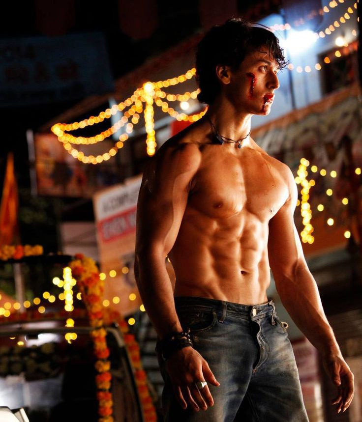 Tiger Shroff's body is ridiculous!                                                                                                                                                      More