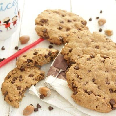 cookies chocolat noisette sans beurre