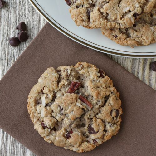 Texas Governor's Mansion Cowboy Cookies | Recipe By: Laura Bush/Slightly Adapted by Winner Dinners