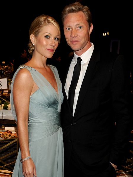 Christina Applegate & Martyn LeNoble 2013                              …