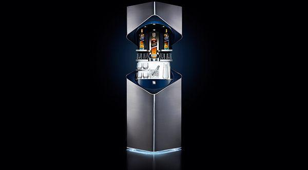 Johnnie Walker Blue Label Whisky Bar on Behance