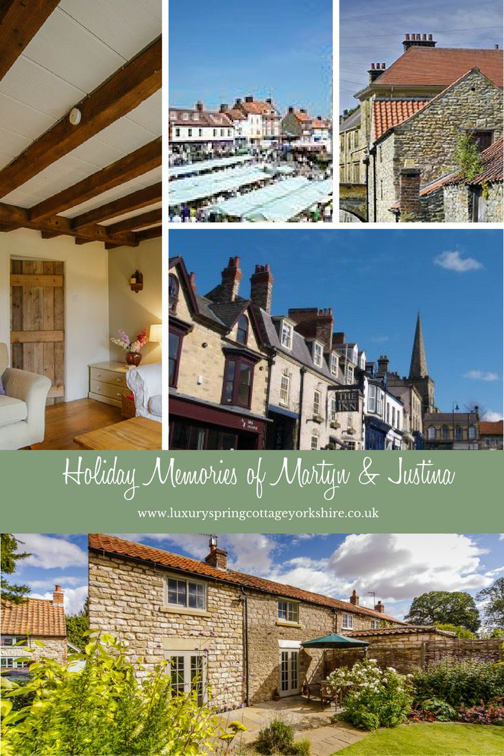 Martyn and Justine said Spring Cottage was one of the best places they had every stayed!   Their holiday memories include spending time on the coast and visiting the towns of Malton, Helmsley and Pickering.   Karen