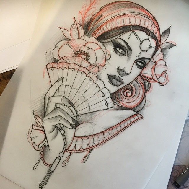Available to tattoo. Please e-mail sunglassesafterda… if you're interested :) #TraditionalTattoos