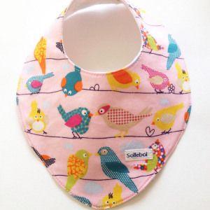Ook voor meisjes hebben we erg veel leuke bandana's. Kijk snel op onze webshop voor een kraamcadeau of voor je eigen dochtertje. Op: www.sollebolshop.nl. Prijzen vanaf 5.95€