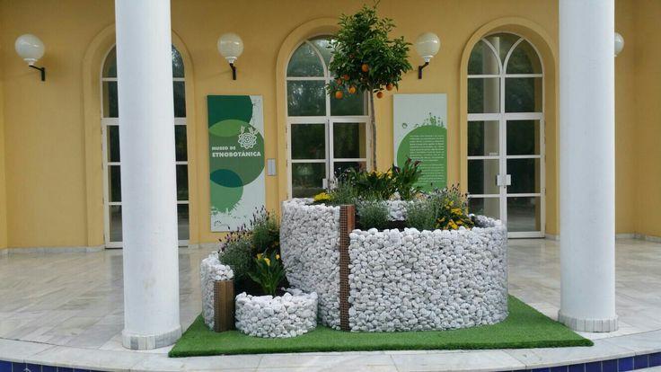 Jardín en espiral. Colaboración de Leroy Merlín con Real Botánico de Córdoba