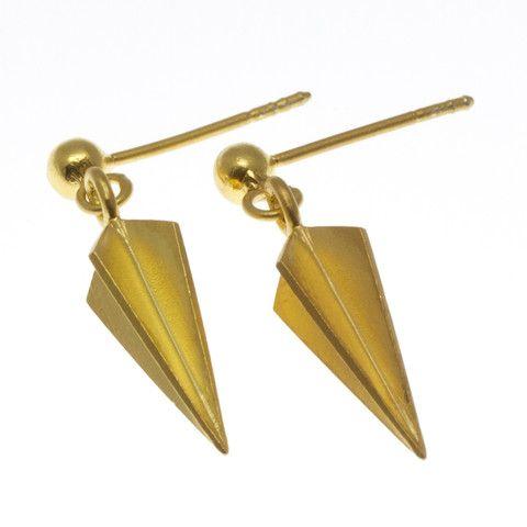 Rebekka Rebekka, The Umbrella-Earplug, ørering, forgyldt sølv
