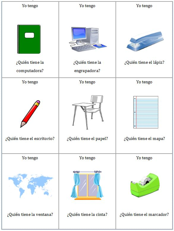 71 best images about School /Escuela on Pinterest | Spanish ...