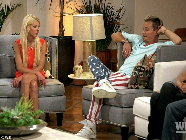 American Lie: Tara Reid was caught admitting she and Dean May faked their relationship for 'money and fame' on Friday's Marriage Boot Camp