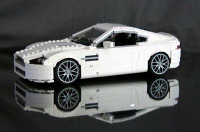 aston martin v8 vantage lego cars pinterest lego. Black Bedroom Furniture Sets. Home Design Ideas