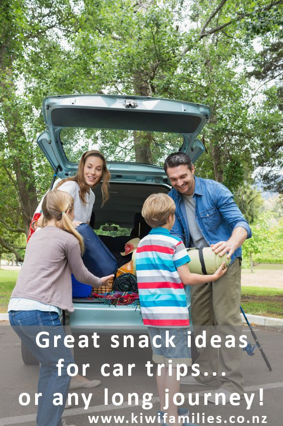 Great snacks for car trips (and how to manage them!) - Kiwi Families