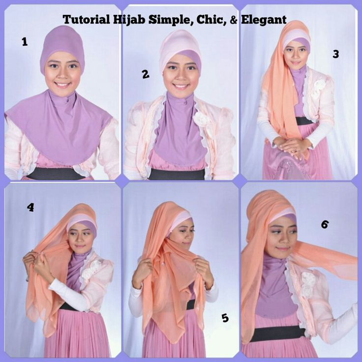 Hijab Tutorial Simple - Chic - Elegant