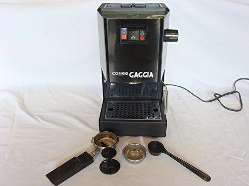 Coffee Gaggia Espresso Machine Watt Italy W Accessories Black 1425
