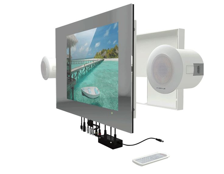 Fresh Evervue SP Bathroom TV LED TV IPX with external speakers Great for your