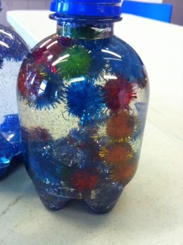 Glitter Water Globes - an easy craft for babies and toddlers   momstown arts and crafts
