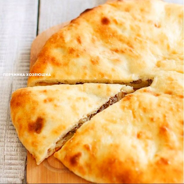 Кубдари - грузинский пирог с мясом - Перчинка хозяюшка