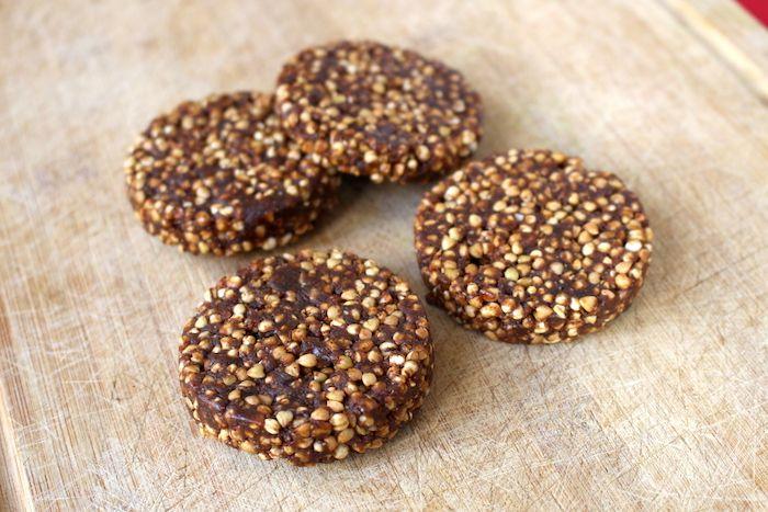 Palets énergétiques Quinoa soufflée Sarrasin grillé