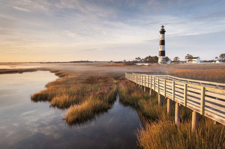 Caroline du nord Bodie Island Lighthouse