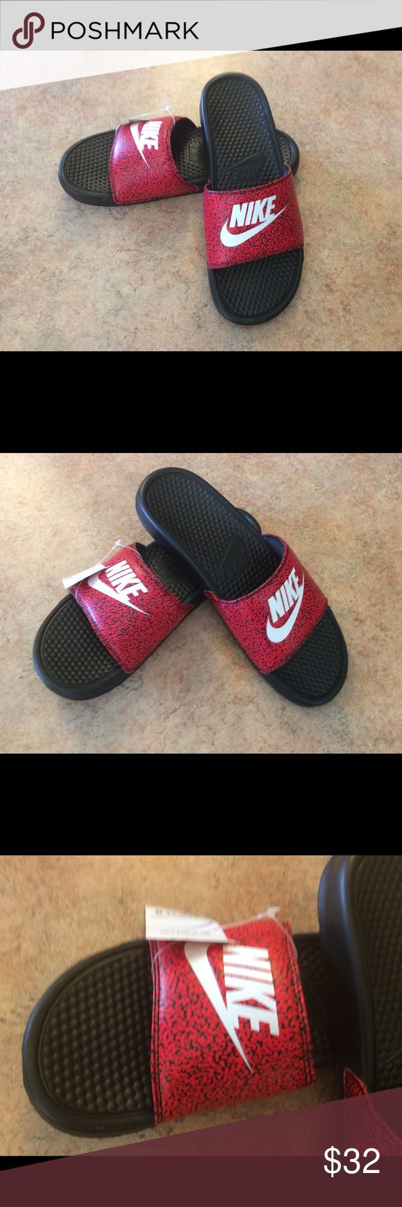 NWT men's Benassi Jdi print slides New with tags men's Benassi print slides Nike Shoes Sandals & Flip-Flops