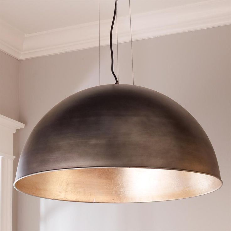 Industrial Dome Shade Pendant - Large
