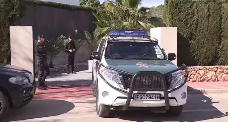 O Aparato Policial Na Detenção Do Jogador Português Rúben Semedo Em Espanha