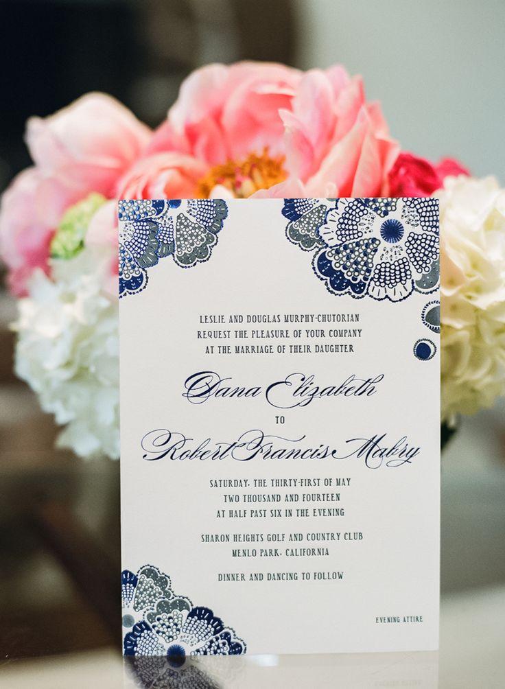 センスの見せどころ♡エレガントな結婚式にしたい♡ネイビーのメニュー表まとめ一覧♡
