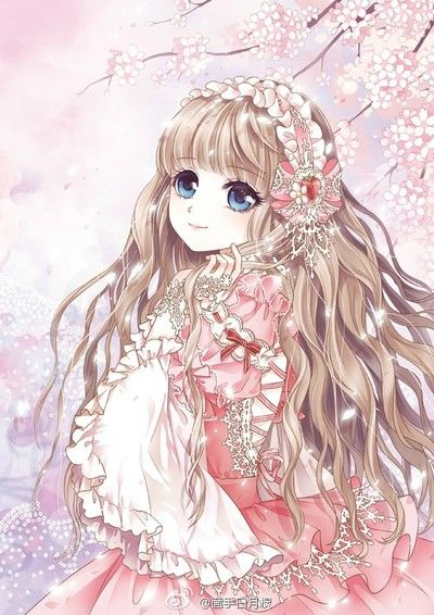 769 best images about anime girls on pinterest so kawaii - Manga fille princesse ...