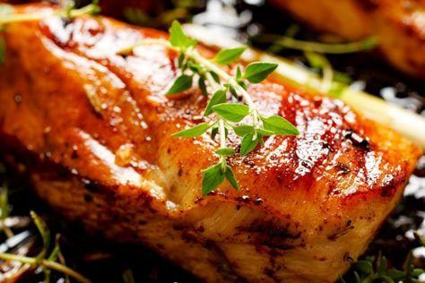 Poitrines de poulet : Marinade balsamique, thym et miel - Recettes - Recettes simples et géniales! - Ma Fourchette - Délicieuses recettes de cuisine, astuces culinaires et plus encore!