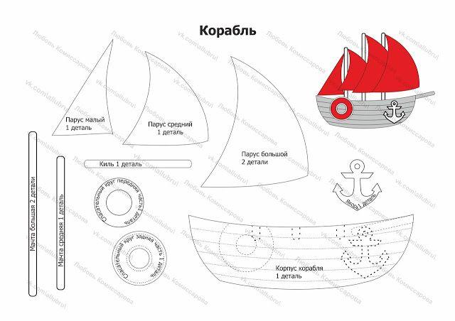 Moldes De Barcos E Navios Para Imprimir Com Imagens Padroes De