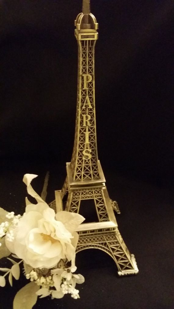 Eiffel Tower, Paris Baby Shower, Paris Theme Decoration, Wedding Decoration, Paris Party Favor, Wedding Centerpiece, Eiffel Centerpiece 16''