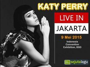 Foto Katy Perry konser Jakarta