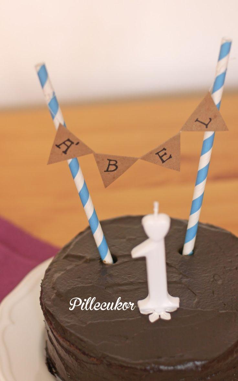 Pillecukor ♥: Első szülinapi torta (glutén-, laktóz-, és cukormentes)