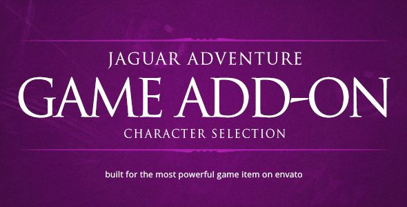Character Selection - Jaguar Game Engine Addon . Character has features such as Compatible Browsers: IE11, Firefox, Safari, Opera, Chrome, Software Version: jQuery
