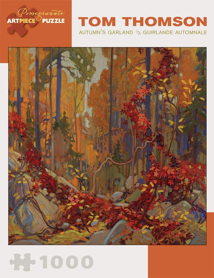 Pomegranate Jigsaw - Autumn s Garland by Tom Thomson (1000 pieces)