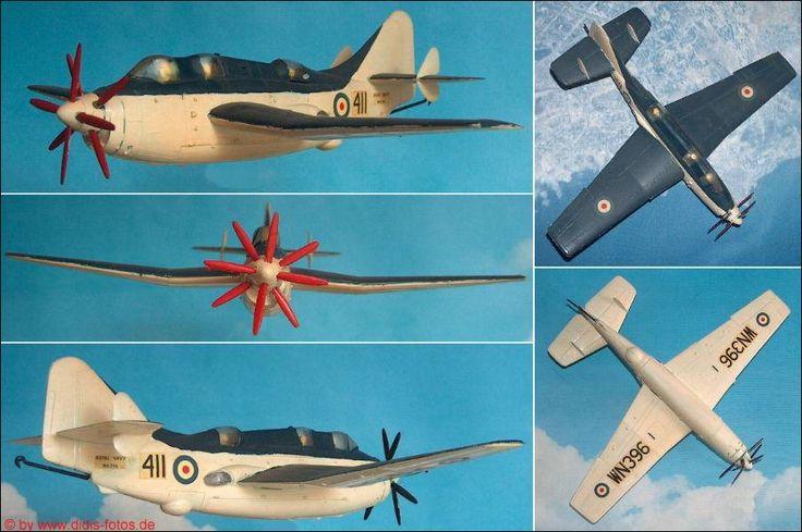 "Fairey ""Gannet"" AS.Mk.1/4, U-Boot-Jäger (Frog 288) 1:72"