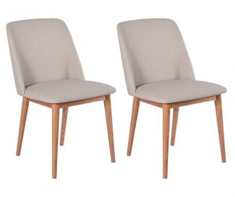 Sada 2 židlí Perstorp Simple