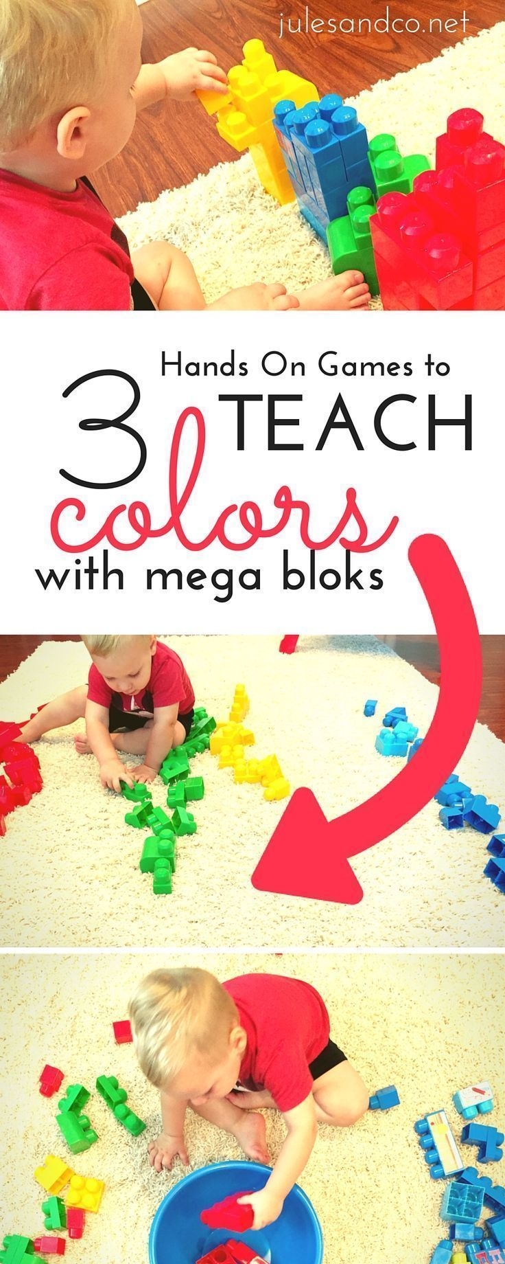 Toddler color learning games - 3 Hands On Games To Teach Colors With Mega Bloks