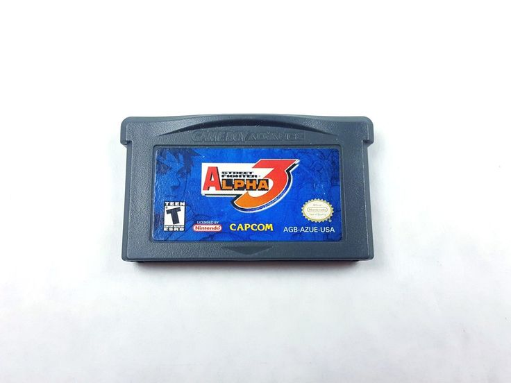 UncleZekes.com - Street Fighter Alpha 3 Nintendo Game Boy Advance 2002