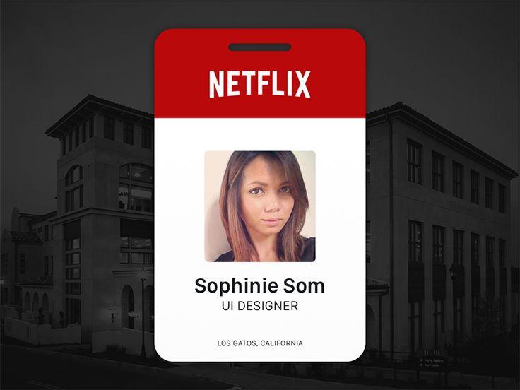 Netflix employee badge.http://sz-cxjzk.en.alibaba.com/    cxj4@greatnameplates.com