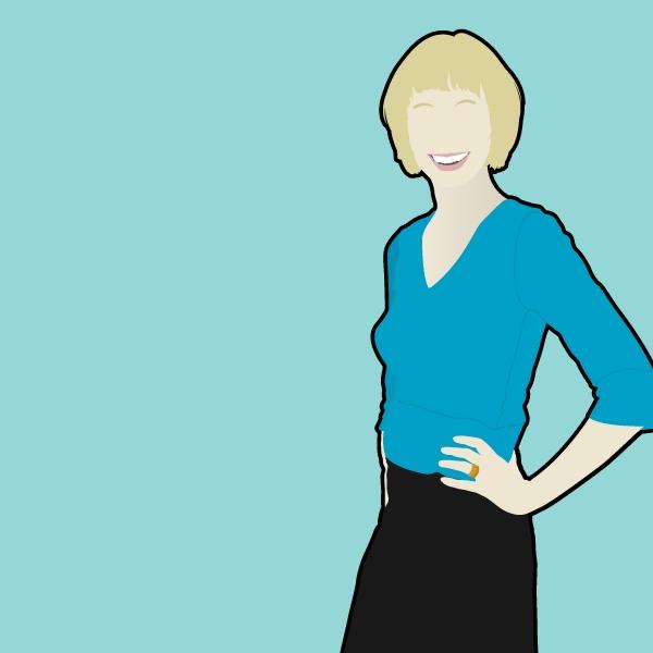 Vector portrait by Dolores Creative Kingdom , via Behance