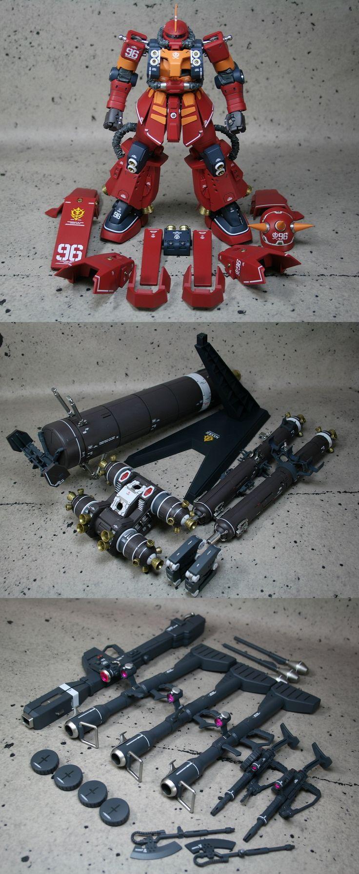 MG 1/100 サイコザク (ver.ka.THUNDERBOLT版) 塗装済改修完成品 - ヤフオク!