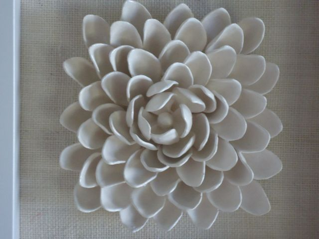 ceramic flower picture by Bron's Ceramics
