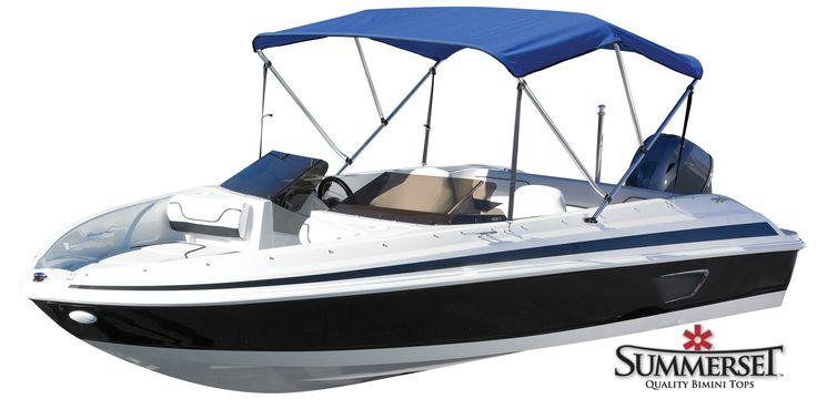 "Boat Bimini Top - Universal Use 46"" High - Summerset SUNBRELLA"