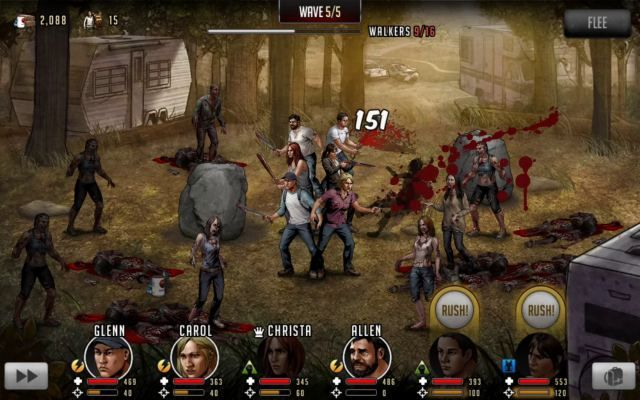 Walking Dead : Road to Survival is a Free to play [F2P] Role-Playing Multiplayer Game playabke on Android and IOS sistems